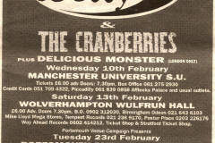 3.-Wrulfun-Hall-Wolverhampton-England-13-02-1993-promotional-poster